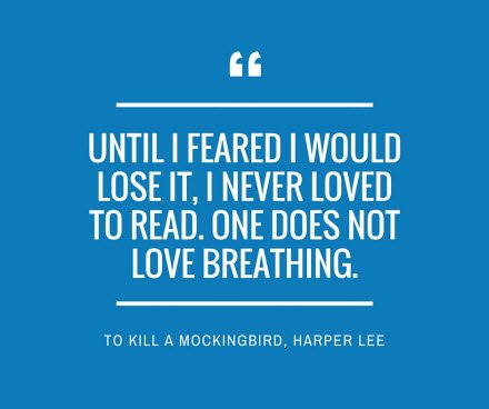 In remembrance of Harper Lee. https://t.co/xzG70JzrqD