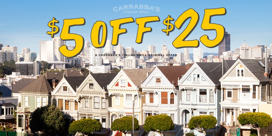 While you're reliving the 90s, get $5 off a $25 to go order. Use code 5OFF25: https://t.co/NJtkFNmEUd #FullerHouse https://t.co/JMeKJU9K5v