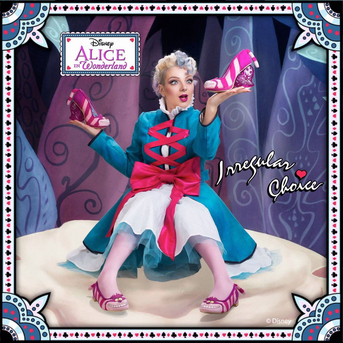 'Cheshire Cat' & 'Cheshire Flat' Limited edition Irregular Choice -  Alice in Wonderland appearing stores soon... https://t.co/mxt2Bmvdjt