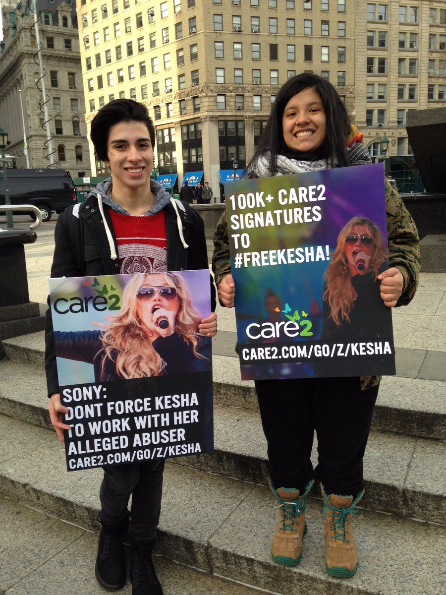 We won't stop fighting to #FreeKesha from her alleged abuser. Sign the Care2 #petition: https://t.co/Uig933dUNf https://t.co/atcechzbl0