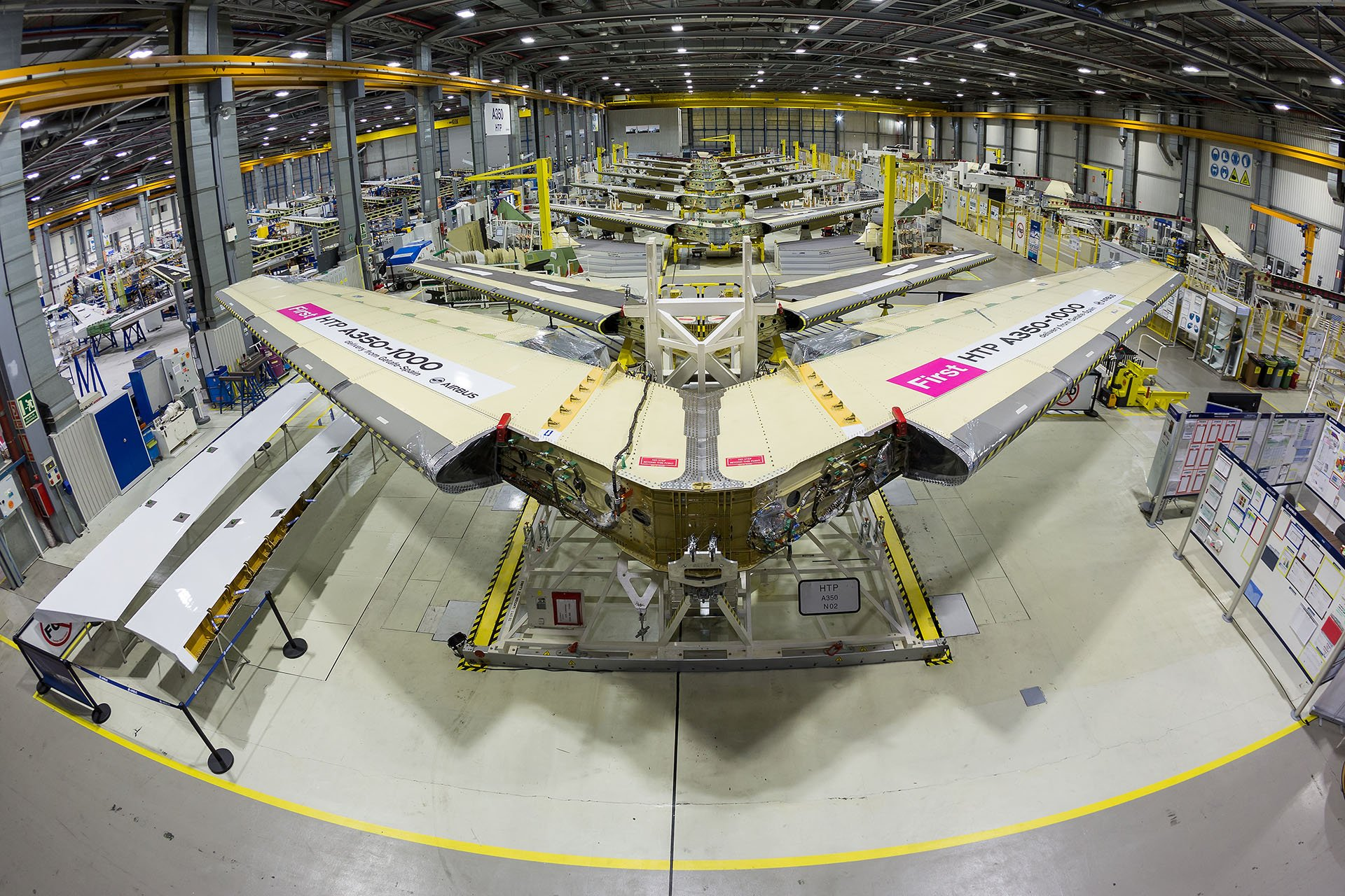 A350 - 1000 in progress