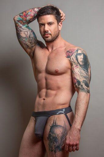 tattoo gay crotch