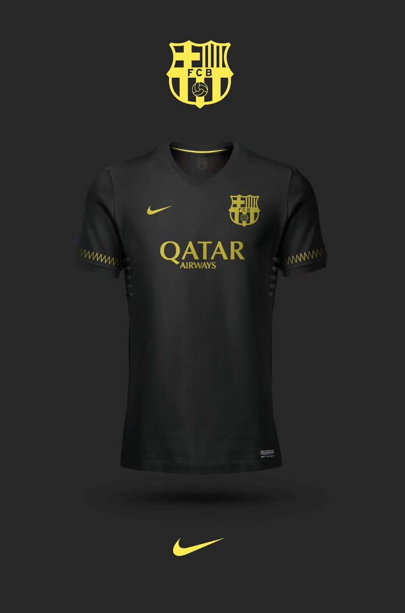 32686071c4a Barça s possible 3rd kit concept. Players signatures below the numbers   fcblive (via  EmilioSansolini)pic.twitter.com AFmtwRIbe1