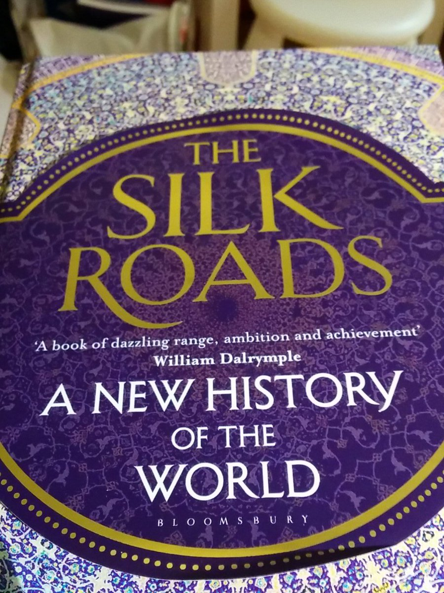 @History_Hit the phenomenal Silk Roads by @peterfrankopan .... rather slowly :) https://t.co/6BvJErNiOb