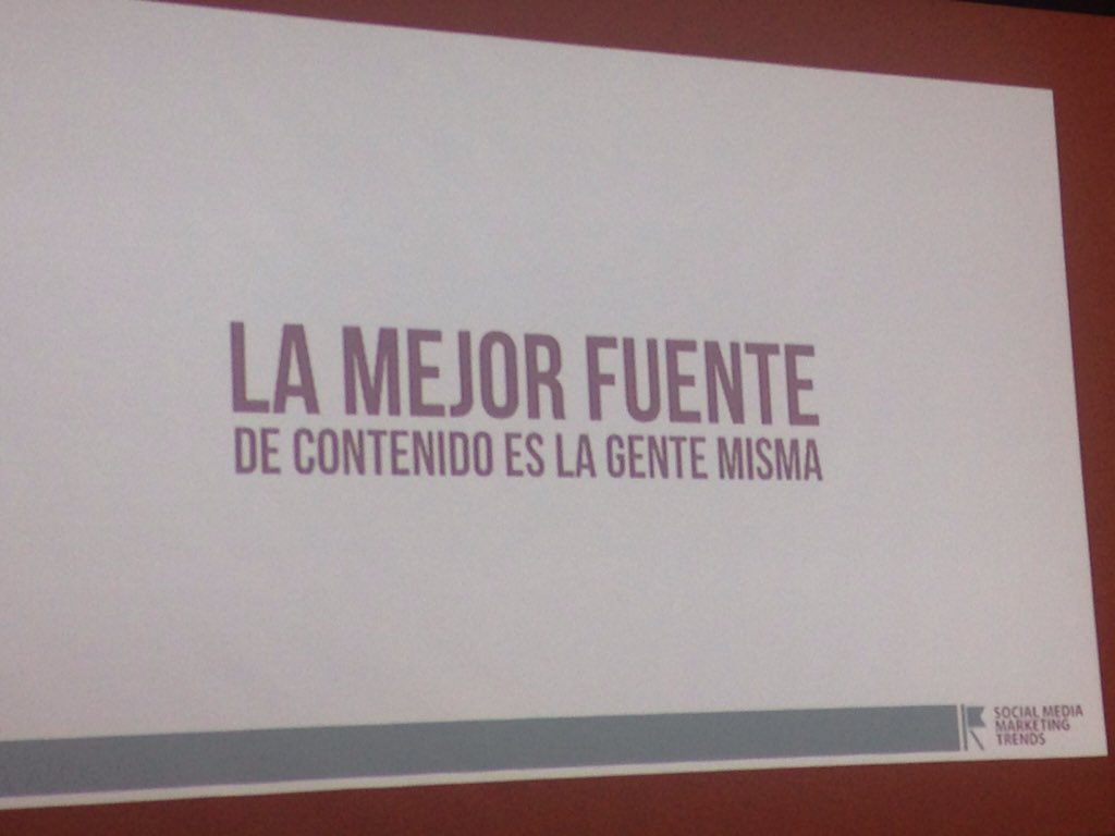 "Ponencia: ""Creatividad en su Estrategia Digital"" https://t.co/XYwNvqbJ5X"