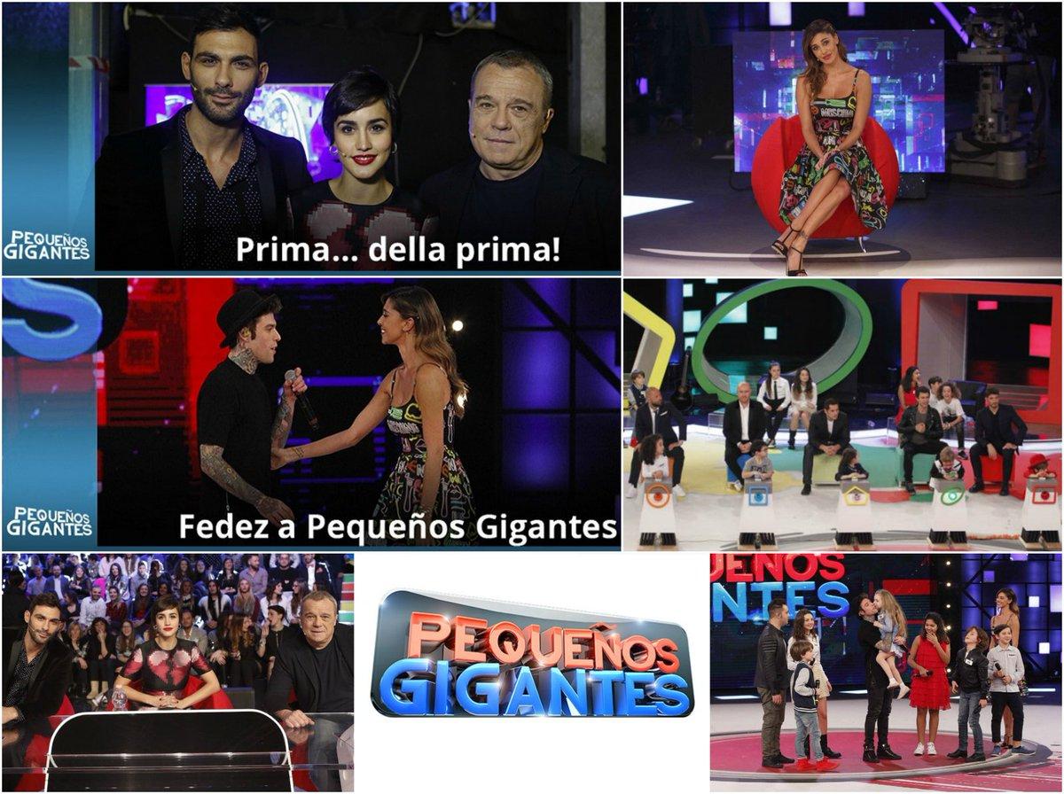 BUBINOBLOG BY NIGHT 19 FEBBRAIO 2016 COMMENTA IN DIRETTA LA PRIMA PUNTATA DI PEQUEÑOS GIGANTES