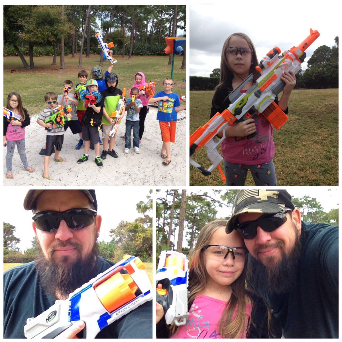 Got to spend the afternoon with my little princes at Nerf Day! That was fun! #NerfDay#FamilyFirst #ProudDad<br>http://pic.twitter.com/QuxLbImDOp