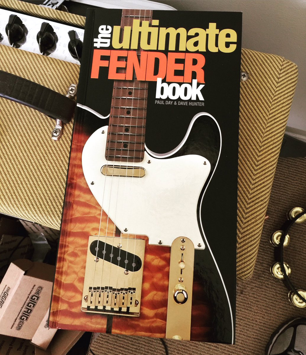 My thoughtful Mom found this book in a Sam's Club. Very good read for @Fender fans. https://t.co/mZWdNN5oEd