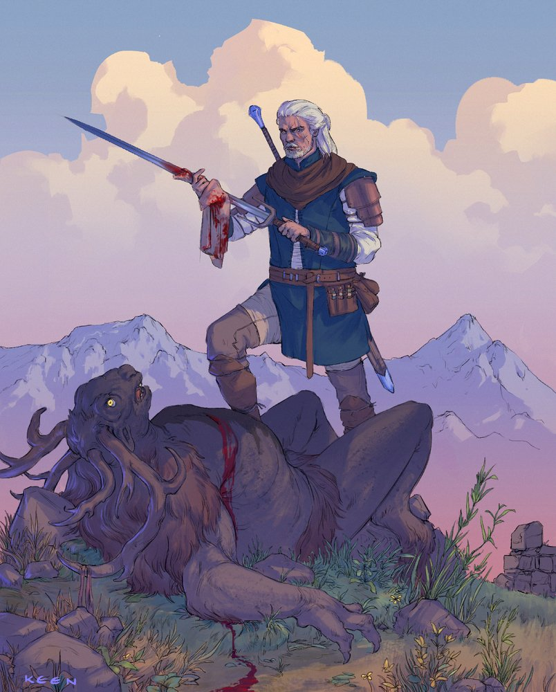 The Witcher on Twitter: