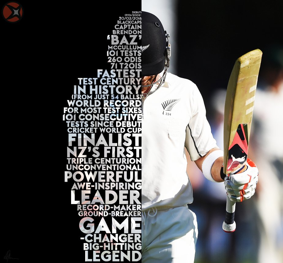 FASTEST CENTURY IN TEST HISTORY! Here's to @BLACKCAPS captain #BrendonMcCullum on his final Test. LEGEND! #NZvAUS https://t.co/bnYtmxPfAa