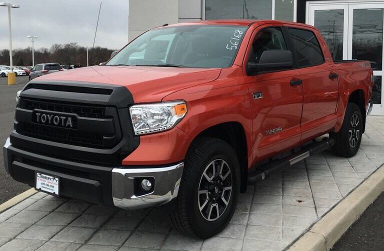 Liberty Toyota On Twitter 2016 Tundra Is So Hot Right Now Inferno Color W Trd Pro Grill Trucks Trdpro