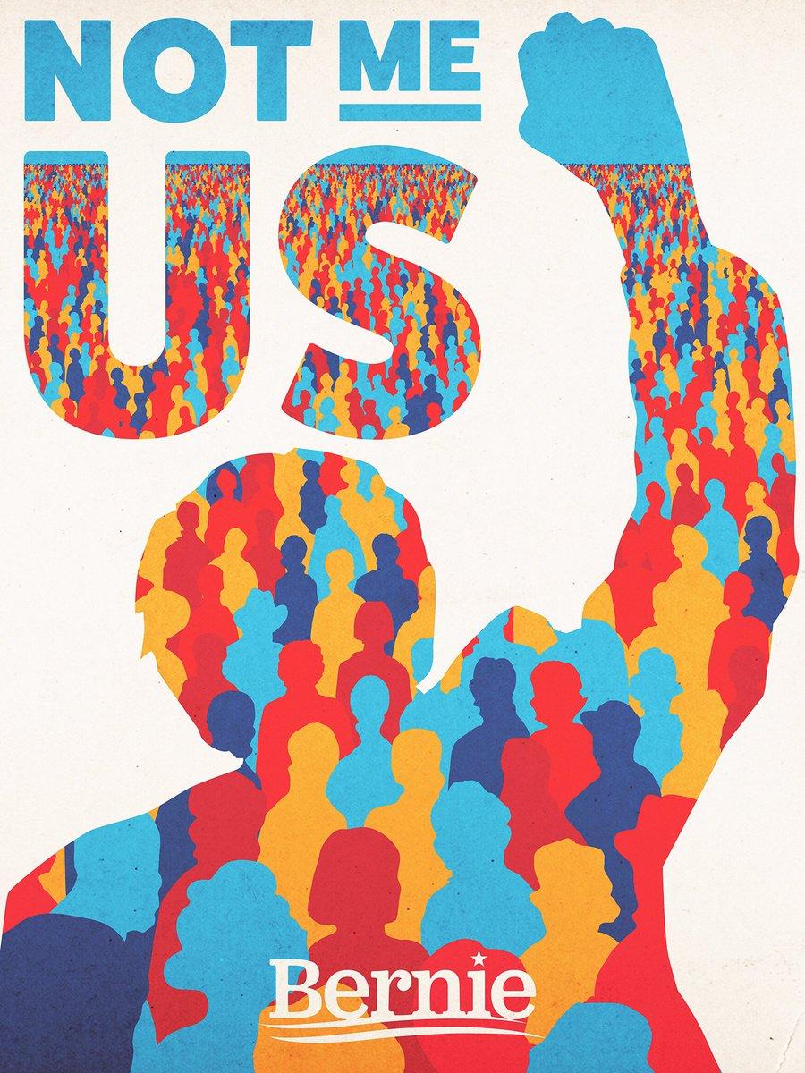 When we get #AmericaTogether , we get change. @BernieSanders https://t.co/jFNo7ixWTH