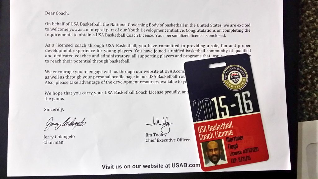 Licensed Coaches from Greg Urbano on Twitter