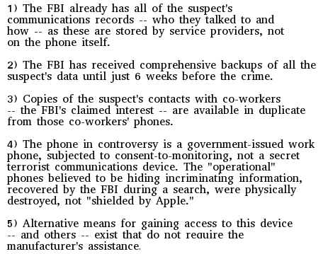 Journalists: Crucial details in the @FBI v. #Apple case are being obscured by officials. Skepticism here is fair: