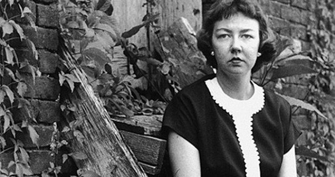 flannery oconnors use of religious themes and the use of character names and objects to signify the  What are the key themes flannery o'connor and that her recurring themes raise religious the plot of a good man is hard to find.