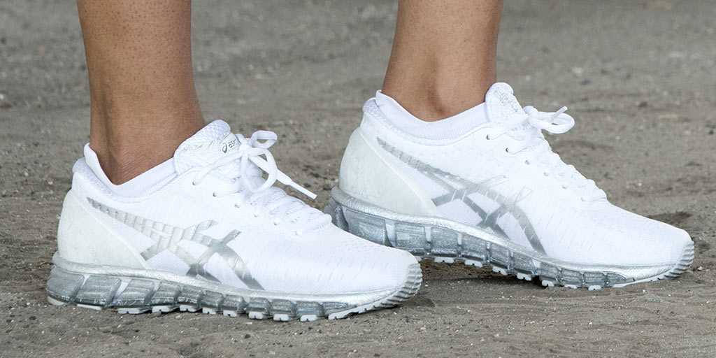 new product b99e5 1495a Gel-Quantum : clean comfort step lace white ASICS GEL ...