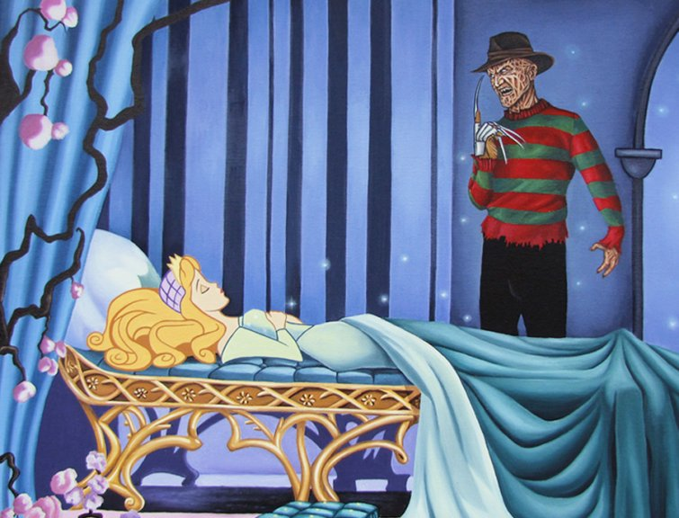 @EricVespe You think that's bad? Look what's happened to SLEEPING BEAUTY. https://t.co/H5SxaWCFEu