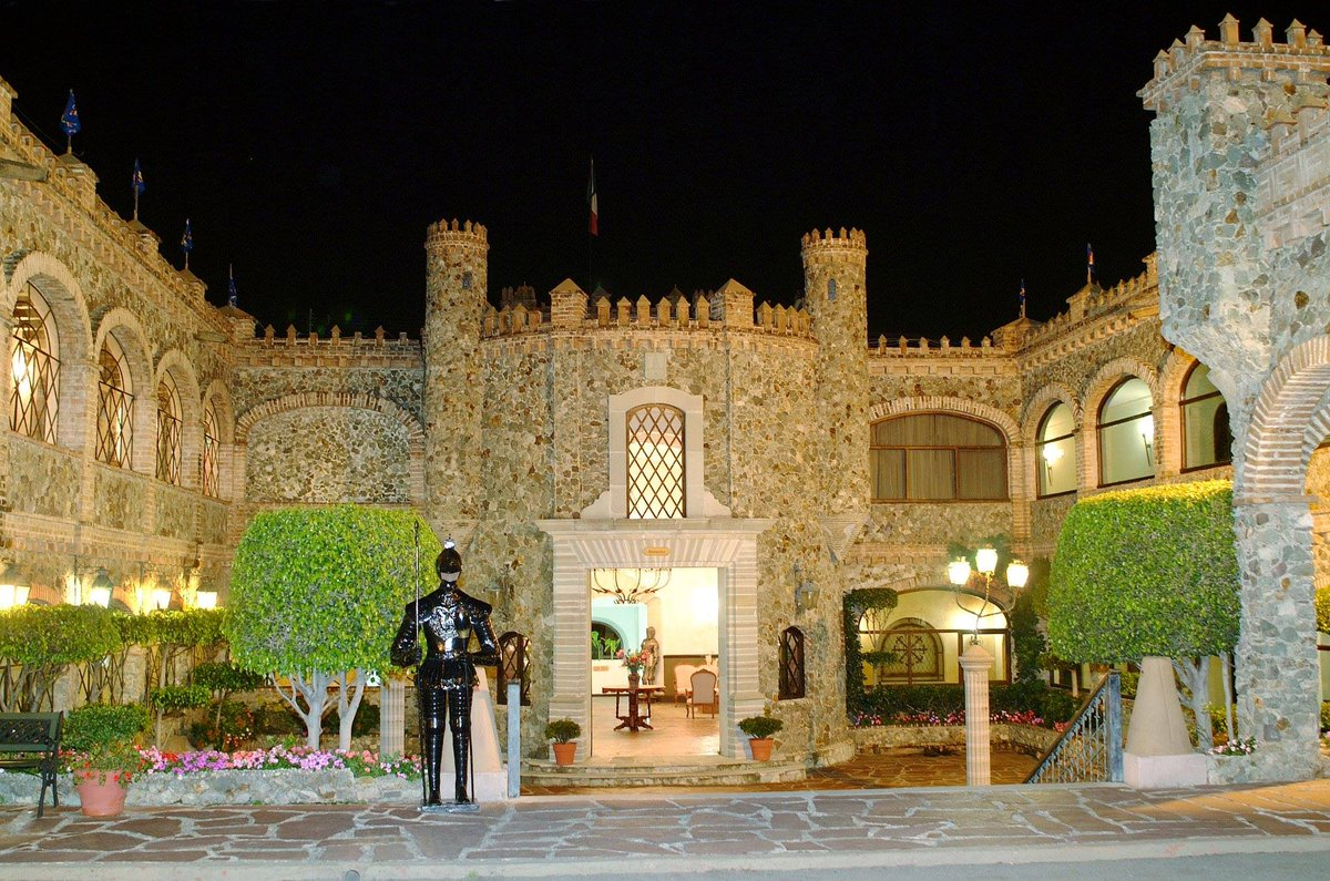 Castillo de Santa Cecilia en Guanajuato.