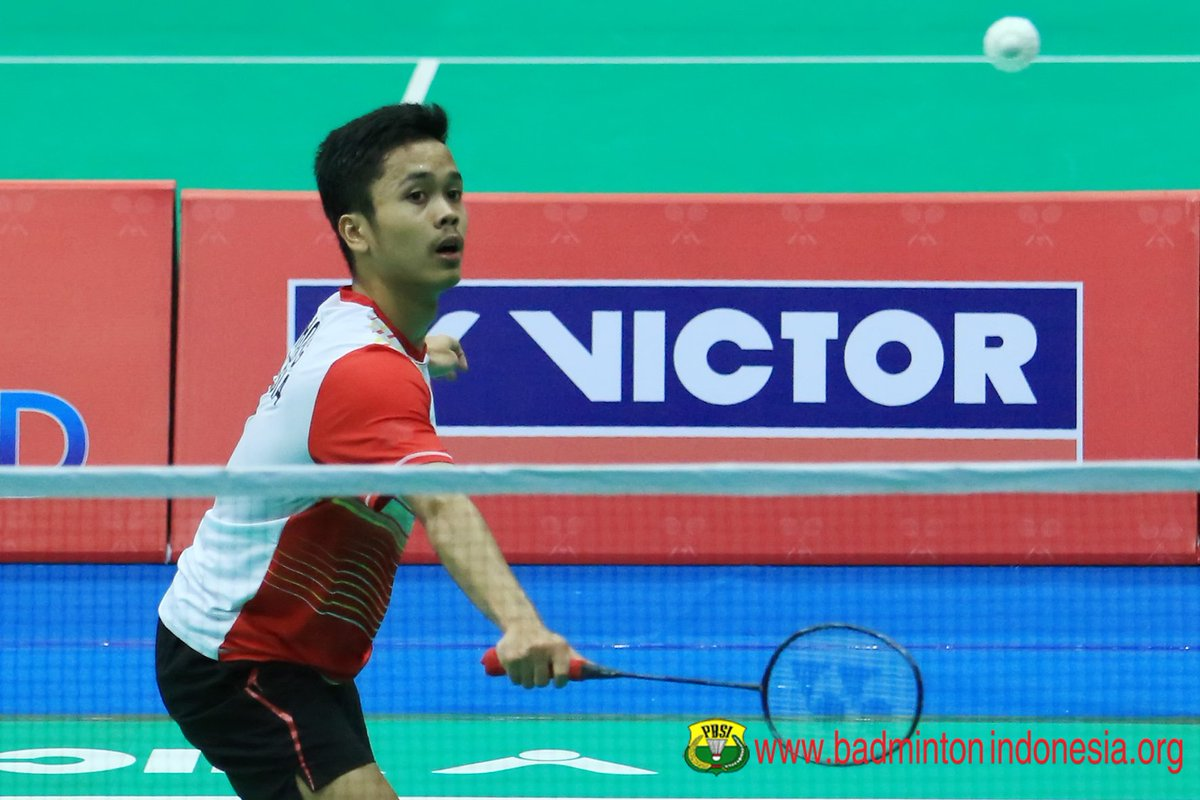 "BADMINTON INDONESIA on Twitter ""Anthony Sinisuka Ginting penentu"