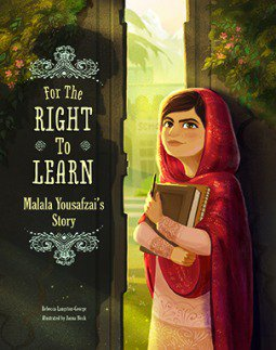 For the Right to Learn - A beautiful biography of Malala Yousafzai https://t.co/89Xni9aAmL via @booksmykidsread https://t.co/bmY1oDyvZV