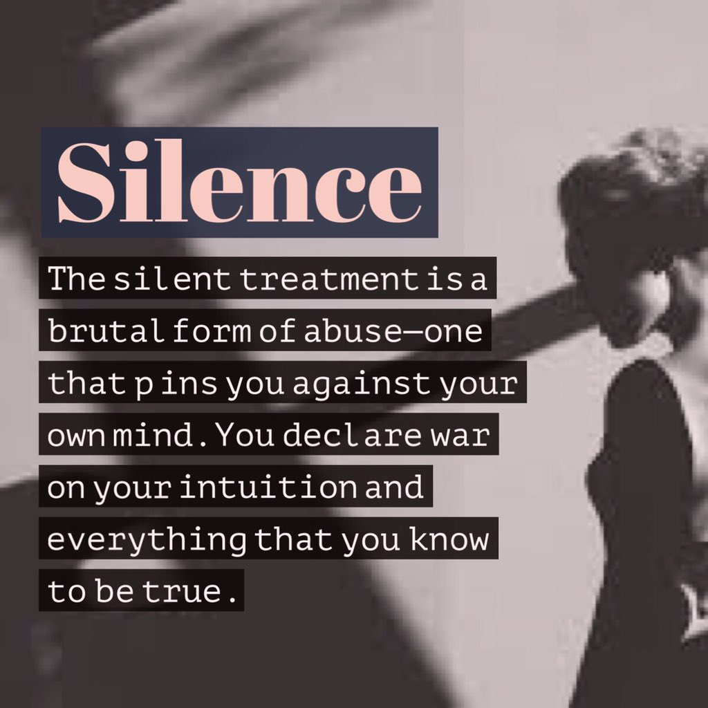 dating silent treatment Silent treatment speaks volumes about a relationship if you're suffering in silence – or because of it -- your relationship may be more endangered than you realize, according to research that shows the silent treatment.