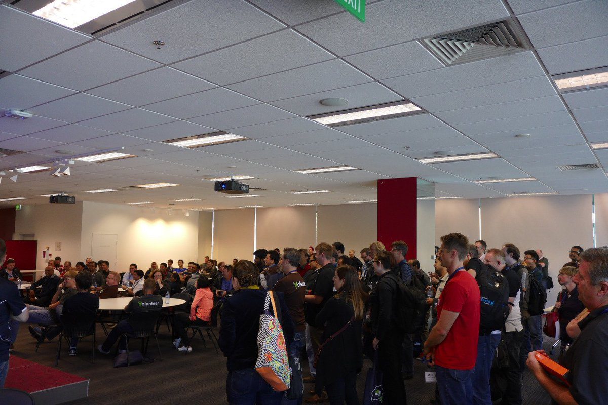 The end of the day raffle at #sqlsatmelbourne https://t.co/lnwDvmZUk7