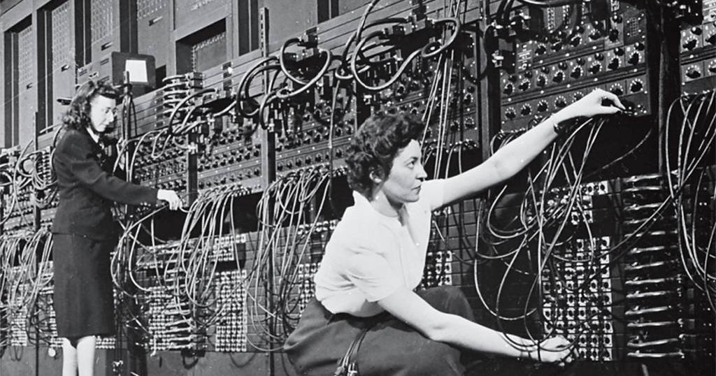 """""""70 years ago, 6 Philadelphia women became the world's first digital computer programmers"""" https://t.co/xyoo4N1BHl https://t.co/bRwgR215TV"""
