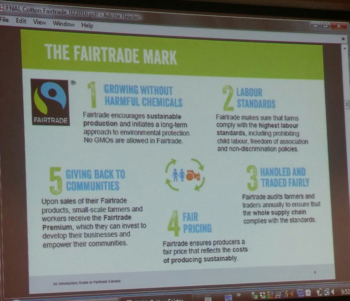 How fair trade works: it's a multi-step process so look for certifications before buying .That's why we believe in certifications!