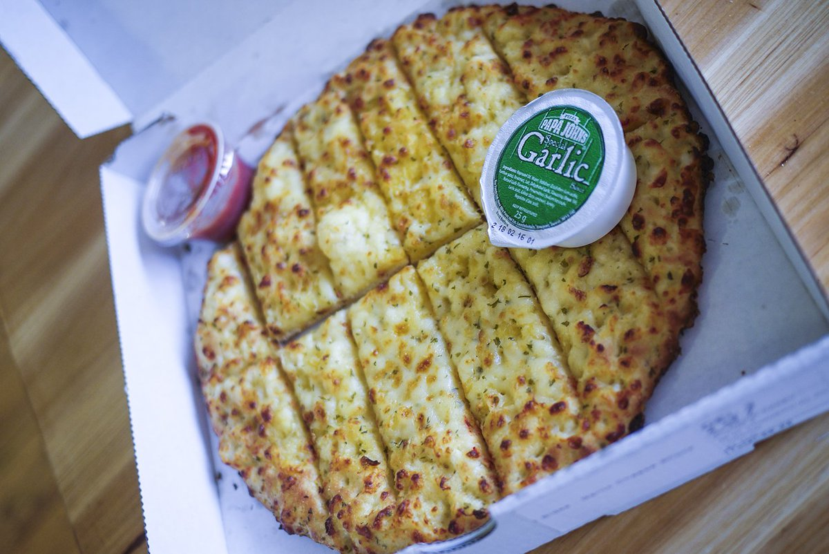 Papa john 39 s uk on twitter try our garlic pizza sticks a - Papa john s pizza garden fresh pizza ...