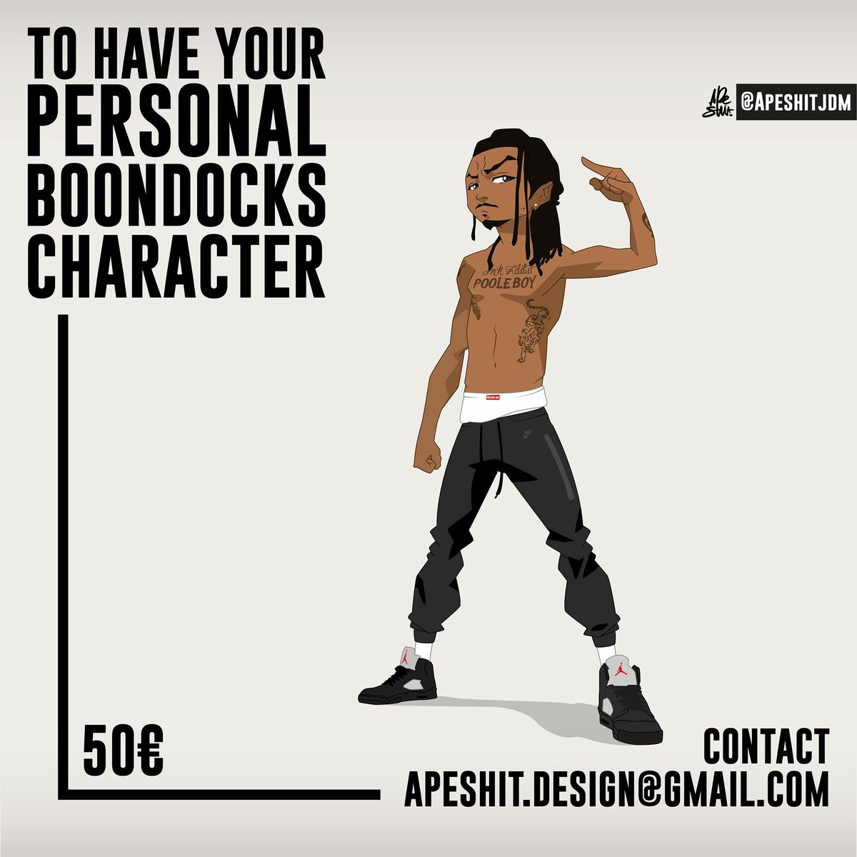 Timefinishing On Twitter Get Your Boondocks Character Apeshit