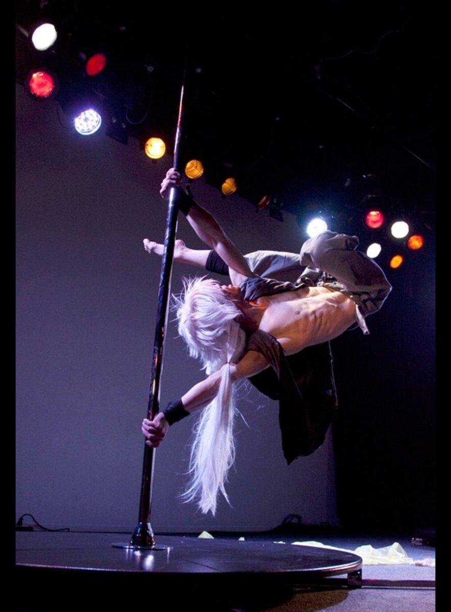 元々はCrazyMarbleNightっていうイベントで披露した小狐丸なんですよw #アキコス  #ポールダンス  #小狐丸