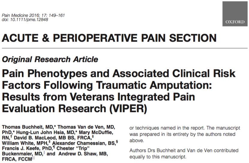We are discussing chronic #pain and associated risk factors. Lead author @TEBuchheit #AnesJC https://t.co/Xe1IOOKhcr