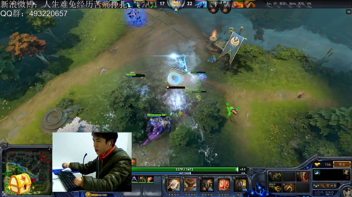 wykrhm reddy on twitter chinese dota 2 streamer with no fingers
