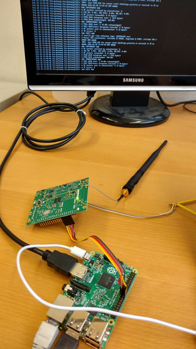 The first @thethingsntwrk Gateway in Winterthur is up at @FabLabWinti https://t.co/dzS7gg8hFD
