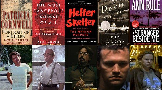 Definitive List Serial Killer Books Movies True Crime Junkies