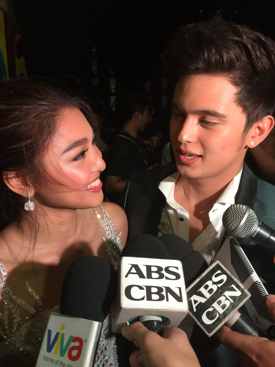 THIS JUST IN: It's OFFICIAL - James and Nadine are officially a couple. The official date is FEBRUARY 11, 2016. ❤️