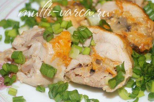 Голень куриная в духовке с картошкой