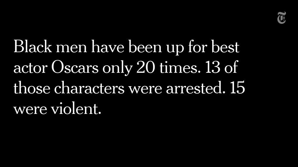 The @NYtimes takes a look at all the times a black actor won an Oscar https://t.co/7SktUPRd3L https://t.co/8Q3uUO0iQQ