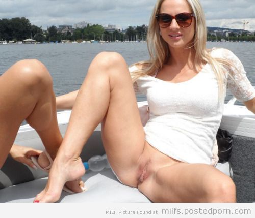 Pussy On Boat 3