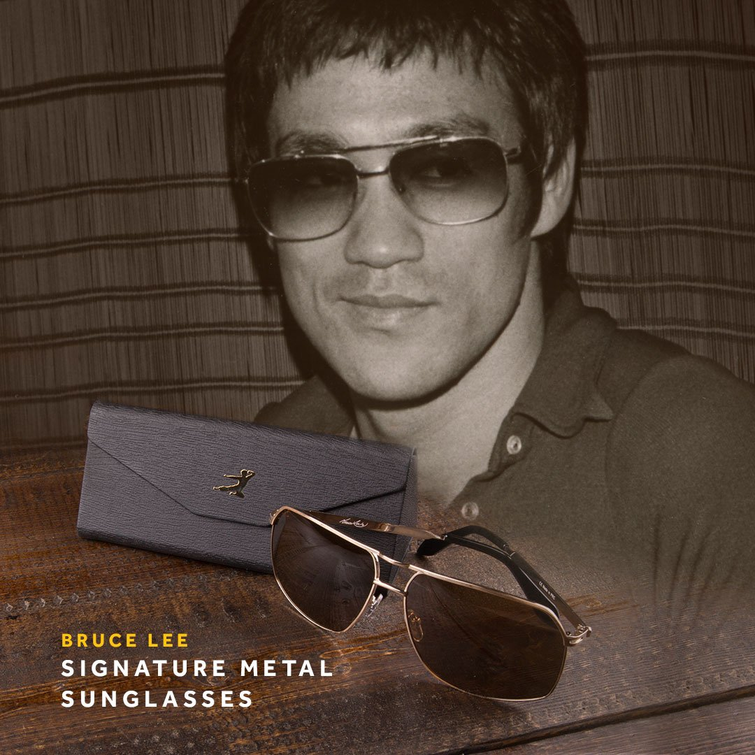 Bruce Lee Sunglasses  bruce lee on twitter bruce lee signature metal sunglasses