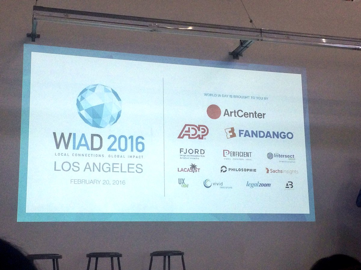 Thanks to #WIADLA sponsors @artcenteredu @ADP @Fandango @fjord @WIAD_LA https://t.co/yF2E6uZOAt