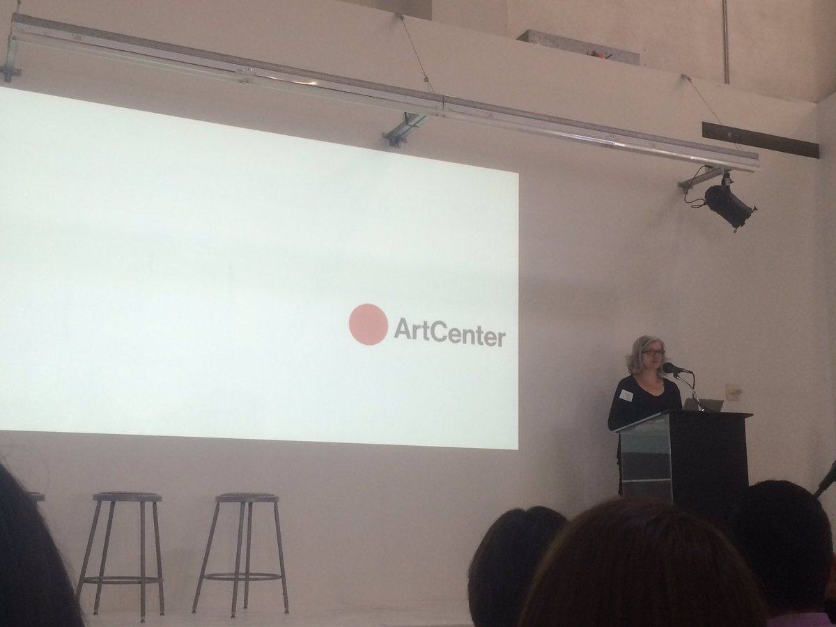 Maggie Hendrie talks @artcenteredu interaction design. Very cool progress on the design programs! https://t.co/jsFG4Xyrya