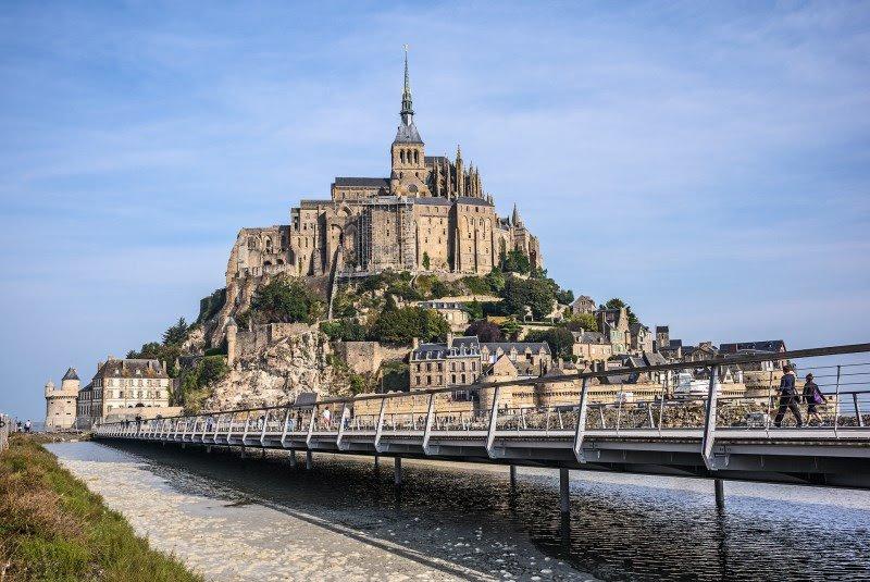 Аббатство Мон Сен-Мишель (Mont Saint-Michel)