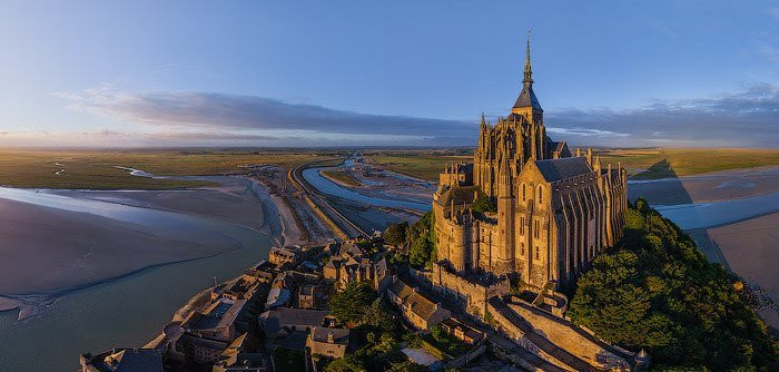 Mont Saint-Michel (аббатство Мон Сен-Мишель)