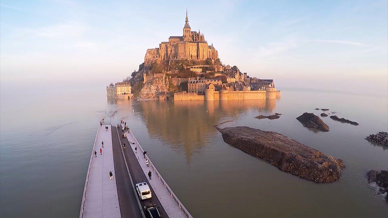 Достопримечательности Мон Сен-Мишель (Mont Saint-Michel)