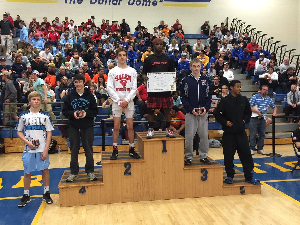 5A State Champion: 106 Sam Braswell #Matoaca – at Oscar Smith High School