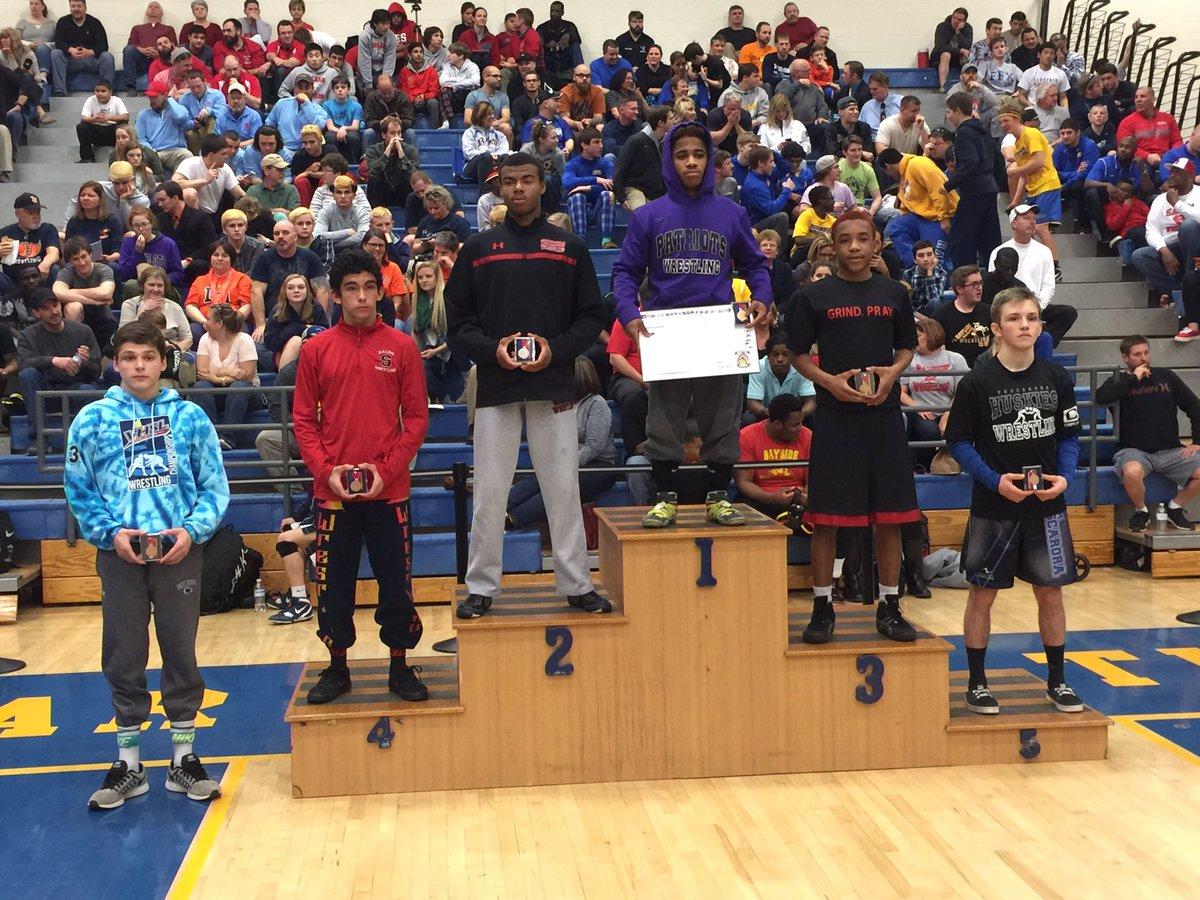 5A States 3rd Place: 113 Brandon Woody #Matoaca – at Oscar Smith High School