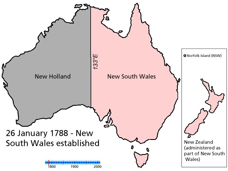 Animated map of Australia showing state border changes through time https://t.co/ErZQ0F44QK https://t.co/NnCqCP16RP