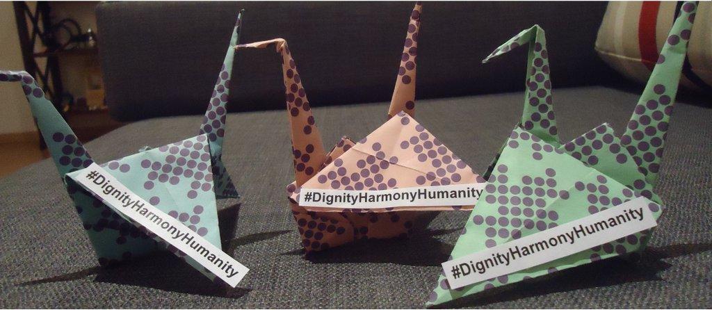¿Hiciste tu grulla?? Sumate a la propuesta mundial de @lionsclubs. #DignityHarmonyHumanity @LeonesCarhue https://t.co/Ctf7GBtPdo