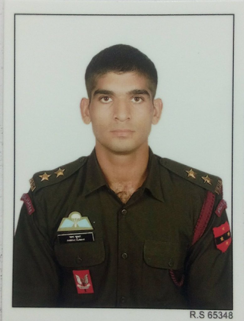 Shiv Aroor On Twitter Army Para Commando Capt Pawan Kumar From Jind Haryana Died Fighting Terrorists In Pampore J K He Was Just 22 Https T Co H0ibl5w702
